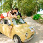 Fotografo Matrimonio Ferrara in 500